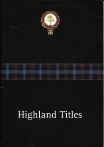 Highland Titles 02